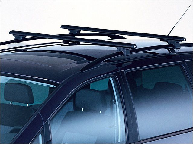GENUINE VW SHARAN SEAT ALHAMBRA ROOF BARS SET FOR MODELS WITH ROOF RAILS