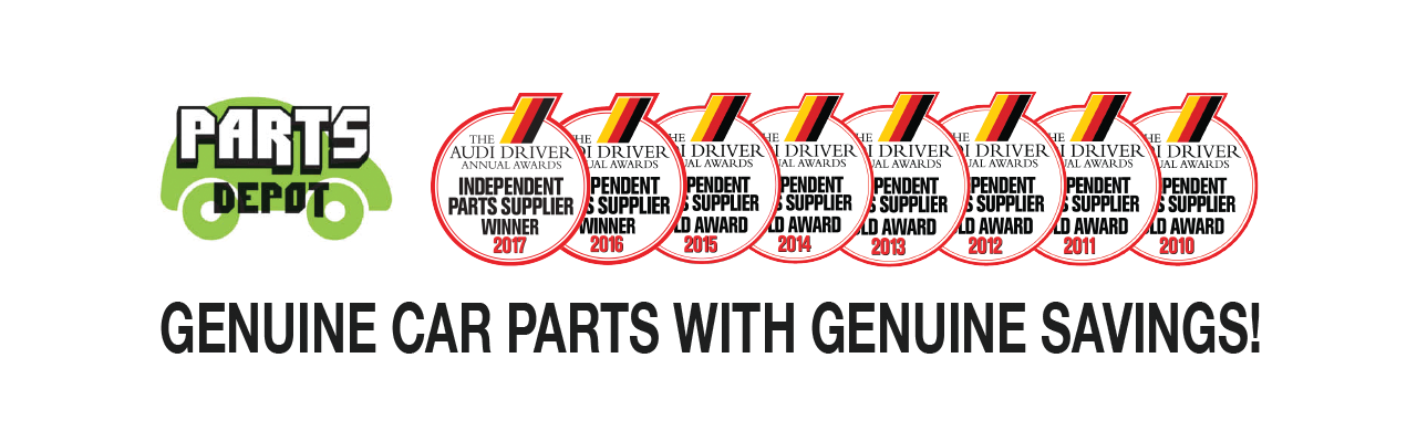 Genuine Parts With Genuine Savings Banner